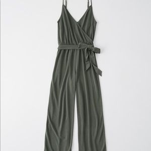 Abercrombie & Fitch Faux Wrap Jumpsuit